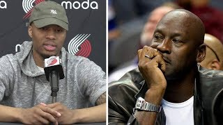 Damian Lillard Says No One Will Admit When Michael Jordan is NOT the GOAT