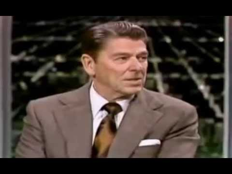 Ronald Reagan on The Tonight Show w/ Johnny Carson  (1975)