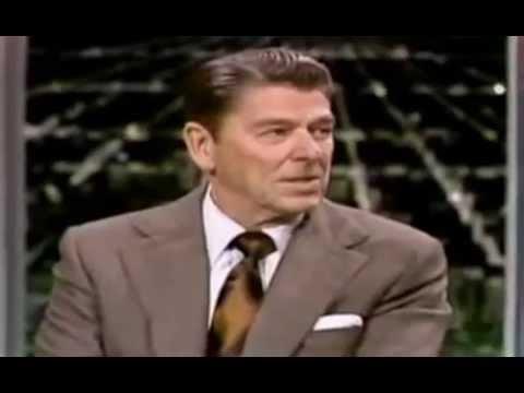 Ronald Reagan on The Tonight Show w/ Johnny Carson  (1975)