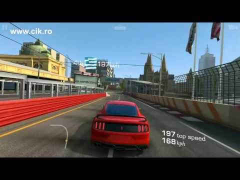 Ford Shelby GT350R Max Tuning - Melbourne Circuit - Real Racing 3