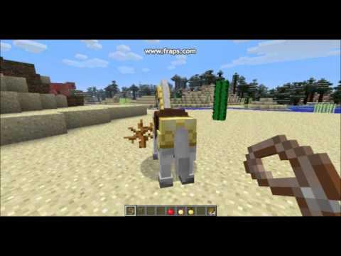 Comment descendre d 39 un cheval dans minecraft youtube - Cheval minecraft ...
