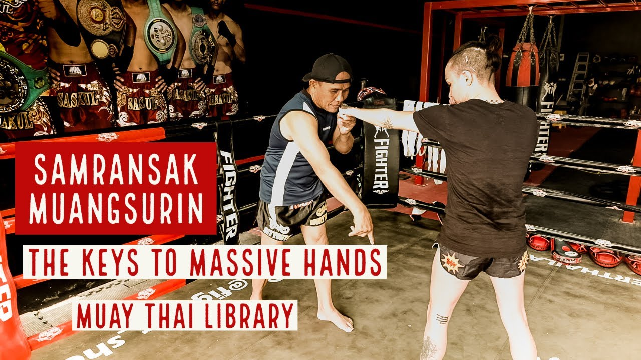 Muay Maat Legend Samransak Muangsurin Keys to Massive Hands (trailer) | Muay Thai Library