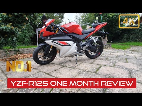Yamaha YZF-R125 review - One Month Ownership