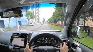 【Test Drive】2021 TOYOTA LANDCRUISER PRADO Black Edition 2.8L Diesel 4WD - POV Drive