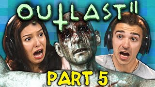 ARE WE INFECTED!!? | OUTLAST 2 - Part 5 (React: Gaming)