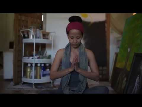Rooted: A journey through yoga that led to art.