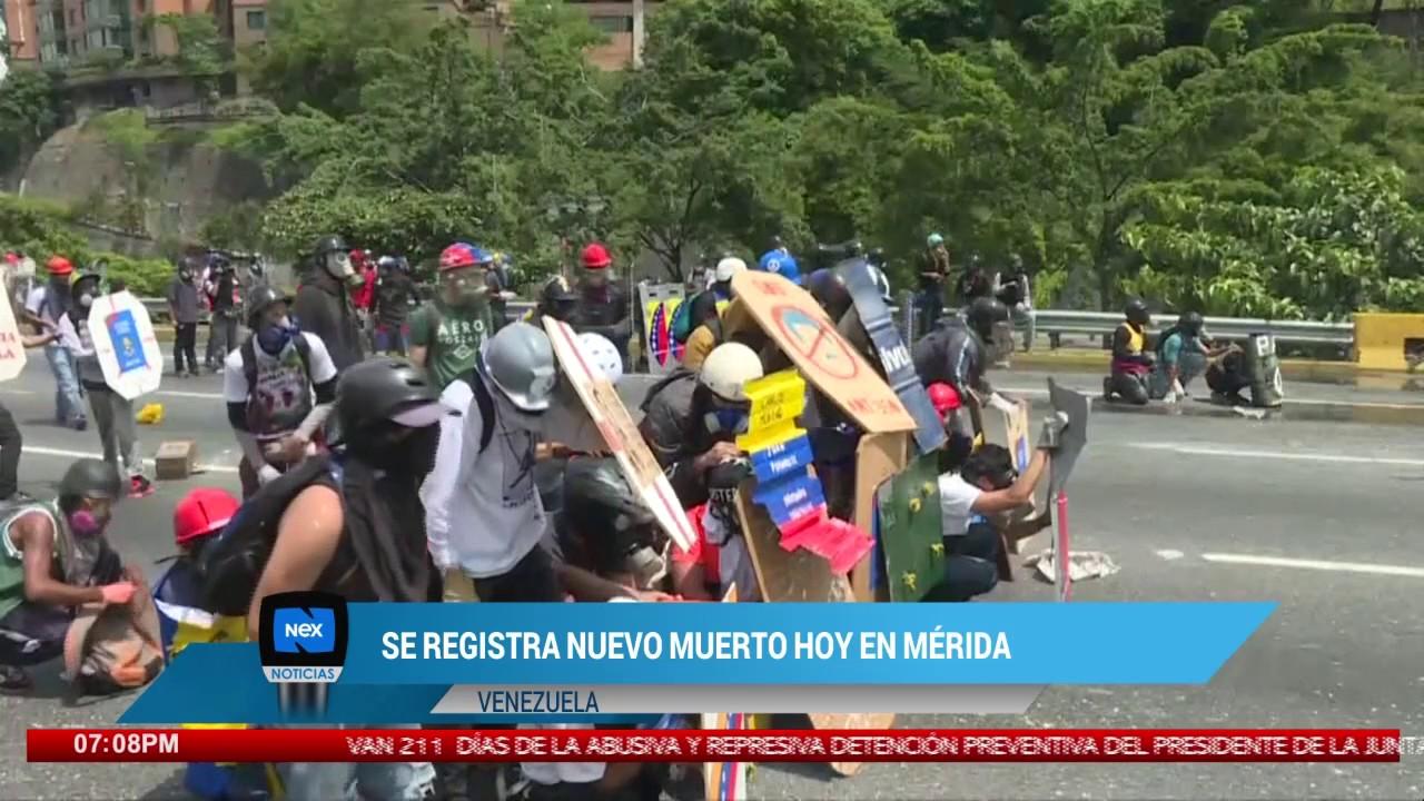Se Registra Nuevo Muerto Hoy En Mérida Venezuela Youtube