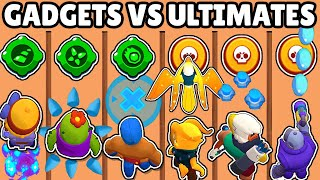 GADGETS vs ULTIMATES | WHICH IS BETTER SKILL? | BRAWL STARS OLYMPICS