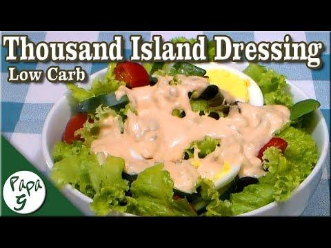 Low Carb Thousand Island Dressing Keto