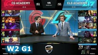 Video Clutch Gaming Academy vs CLG Academy | Week 2 of S8 NA Academy League Spring 2018 | CGA vs CLGA download MP3, 3GP, MP4, WEBM, AVI, FLV Juni 2018