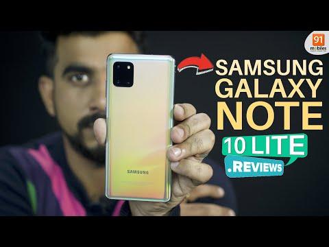 Samsung Galaxy Note 10 Lite Review: S-Pen Se Marein Style!