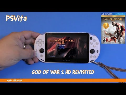 PSVita: God Of War 2 HD Revisited (2018)