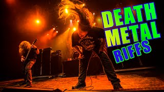 10 Death-Metal Guitar Riffs Every Guitarist Should Know