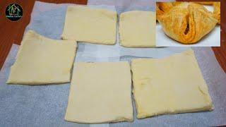 പഫസ ഷററ വടടൽ എളപപതതൽ ഉണടകക  homemade puff pastry sheet
