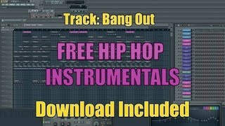 .:Free Aggressive Hip Hop Instrumental Track:Bang Out (MP3 Download Included):.