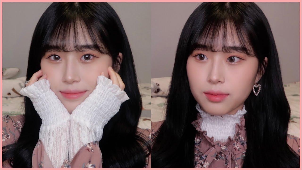 핑크빛 공주st 메이크업👸🏻💕봄웜 찰떡 코랄 메이크업 | pink daily makeup | 웨이채널 way channel