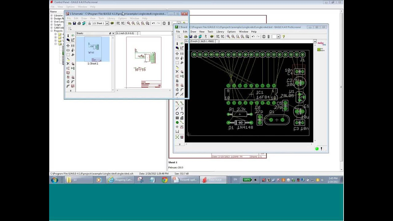New Features of CadSoft EAGLE v6 - YouTube