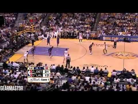 2004 NBA Finals - Detroit vs Los Angeles - Game 1 Best Plays