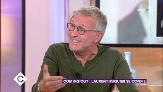 Coming out : Laurent Ruquier se confie ! - C à Vous - 03/09/2018