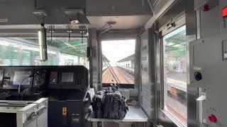 小田急電鉄4000形4065F快速急行新宿行き 町田〜新百合ヶ丘間前面展望
