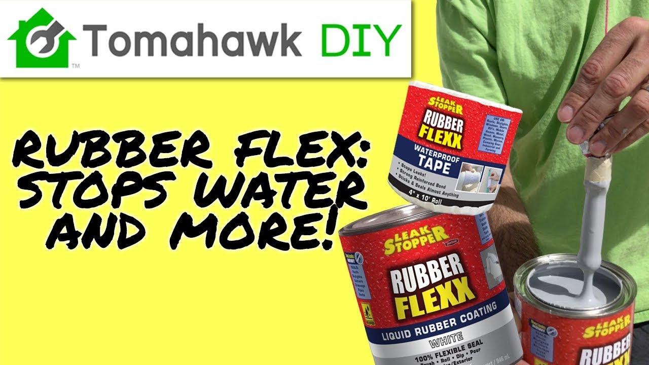 Leak Stopper Rubber Flexx - Rubber So Many Different Uses!