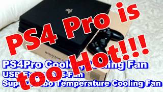 【 PS4 Pro Cooler Review 】Cool the PS4! Will this help us?