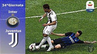 """Inter Vs Juventus • 34°Giornata """"Grande Sfida nella Notte delle Stelle"""" • PES 2019 Patch [Giù]"""