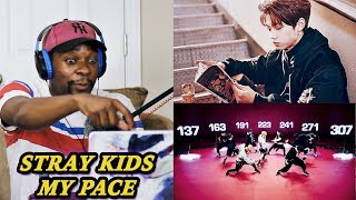 WHO IS THAT GUY!?!?! Stray Kids - My Pace M/V REACTION | Jamal_Haki