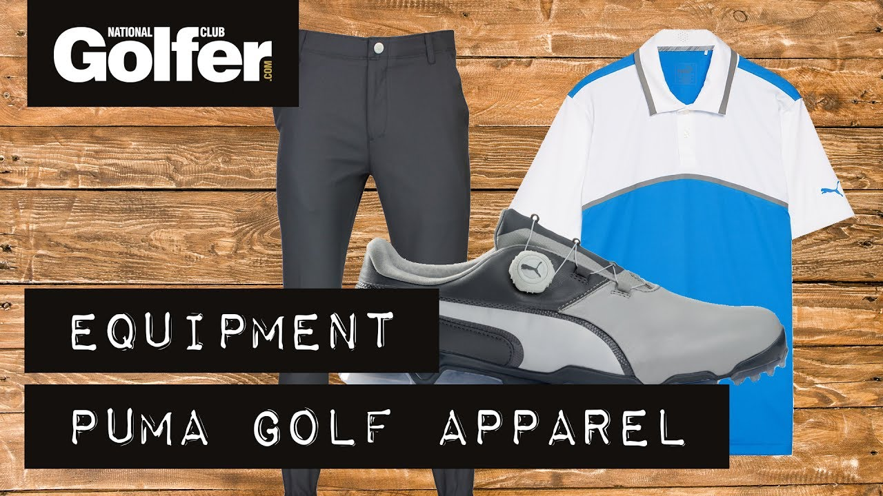 5ec0c54eeccc Review  Puma golf clothing and shoes - YouTube