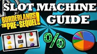 Borderlands Pre Sequel: Slot Machine Guide (Statistical Analysis) [HD]