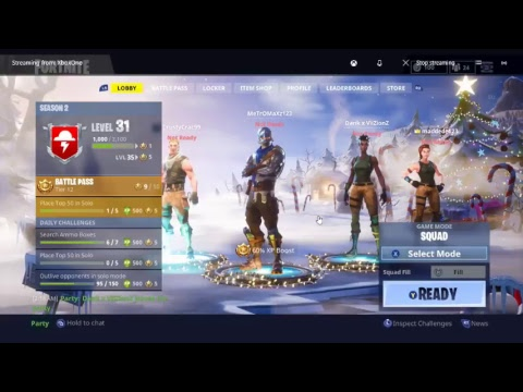 EPIC FORTNITE SQUADS WITH ENVY D!!!!
