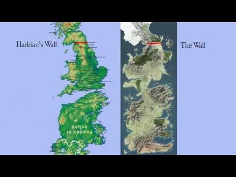 Game of Thrones' Westeros is the UK and Ireland upside down!