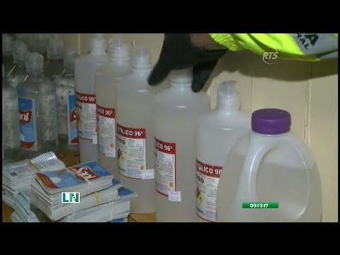 Desmantelan un laboratorio clandestino en Quito
