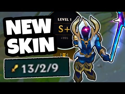 THIS NEW SKIN MADE ME OP!? WIN IN UNDER 20 MINS! Awesome Cosmic Blade Master Yi - League of Legends