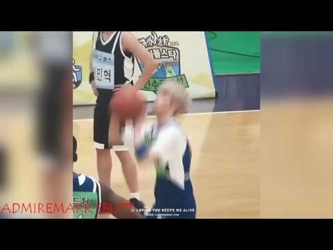 Mark Tuan playing Basketball