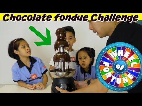 CHOCOLATE FONDUE CHALLENGE  TheRempongs