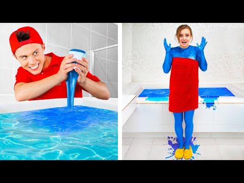 13 смешных пранков с братом и сестрой / Смешные розыгрыши
