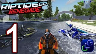 Riptide GP: Renegade PS4 PC Android iOS Walkthrough - Gameplay Part 1 - Career Trial by Bot