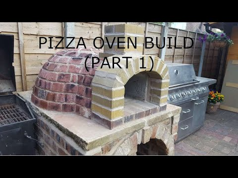 AMAZING Outdoor Pizza Oven (part 1) Built for £70 - about $90