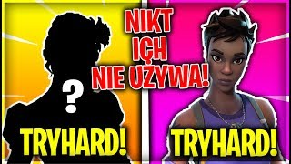 TRYHARDOWE SKINS NO ONE USES! (Fortnite Battle Royale)