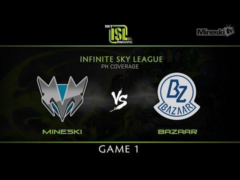 Mineski vs Team Bazaar | Game 1 | Infinite Sky League | PH Coverage