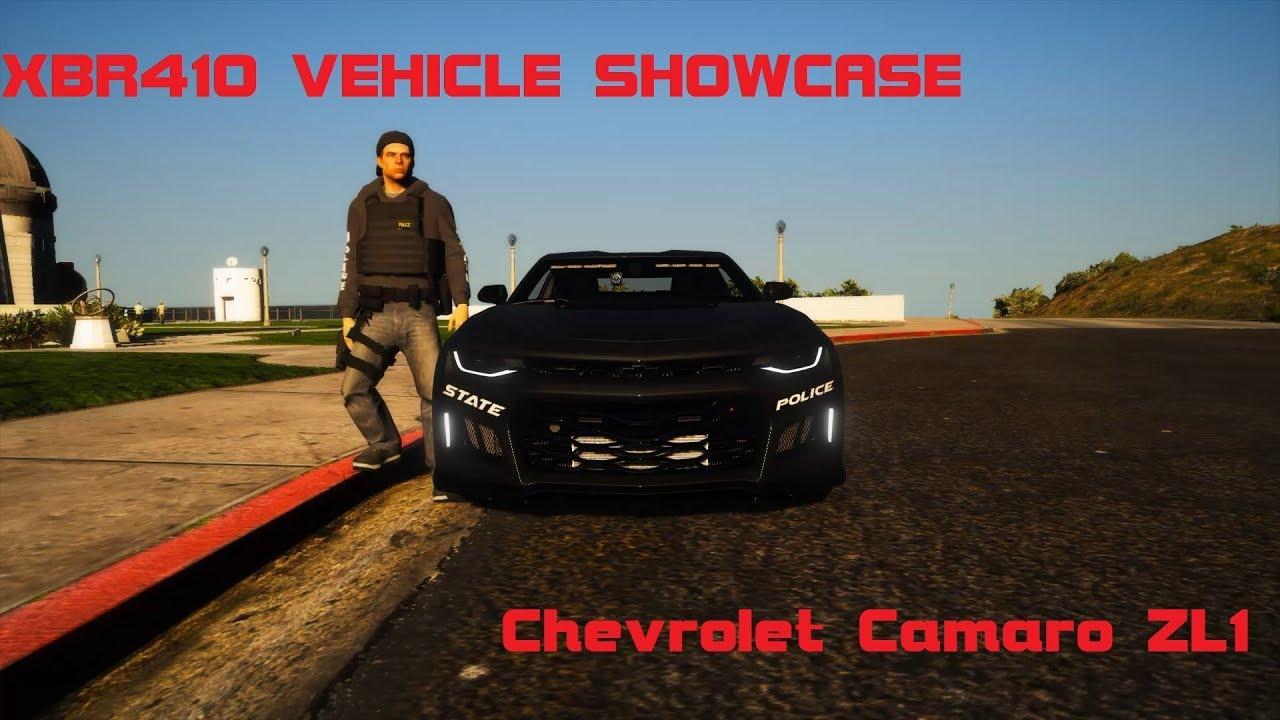 XBR410 Vehicle Showcase - Chevrolet Camaro ZL1
