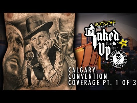 Rockstar Energy Drink Inked up Tour Calgary Convention Coverage pt. 1 of 3