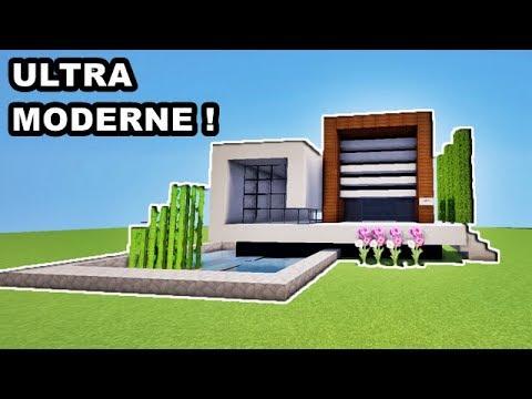 Maison Moderne Japonaise Sur Minecraft Tuto Youtube
