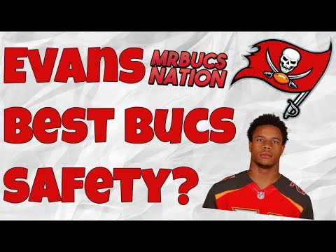 Justin Evans had an awesome Rookie Season... is he the Bucs Best Safety?