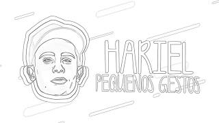 MC Hariel - Pequenos Gestos ( Lyric Video ) GR6 MUSIC