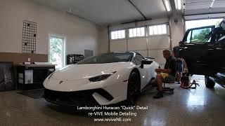 Lamborghini Huracan Quick Detail