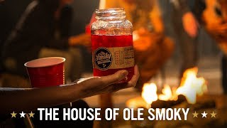 OLE SMOKY MOONSHINE| HOUSE OF OLE SMOKY | LIT CAMPFIRE thumbnail
