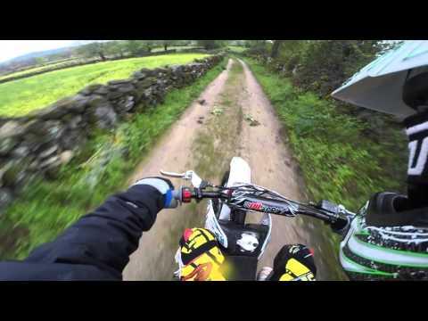 Pit Sport 140cc y Orion 140cc Motocross Racing (GO PRO HERO 4)