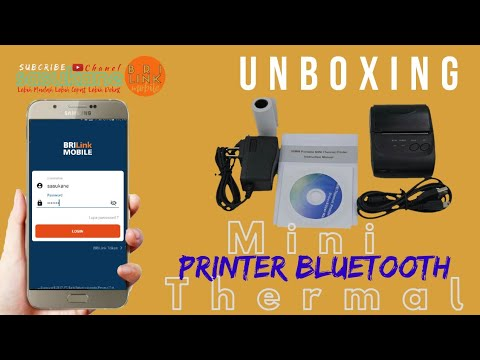 Unboxing Mini Thermal Printer Bluetooth